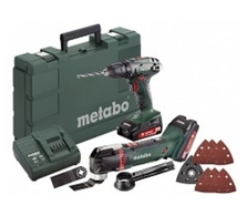 Aku set Metabo BS 18 + MT 18